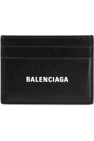 Balenciaga Portacarte con stampa - 1090 - Black