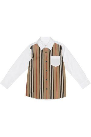 Burberry Camicia a righe in cotone