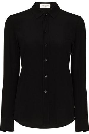 Saint Laurent Donna Camicie - Camicia aderente - Di colore