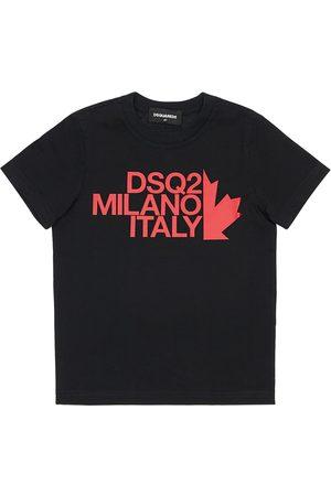 Dsquared2 T-shirt In Jersey Di Cotone Con Logo