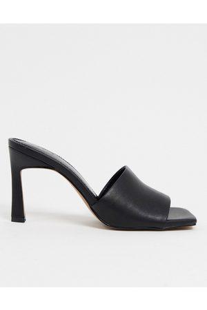 ASOS Hattie - Sandali tacco medio neri