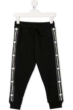 Dsquared2 Pantaloni sportivi con banda logo