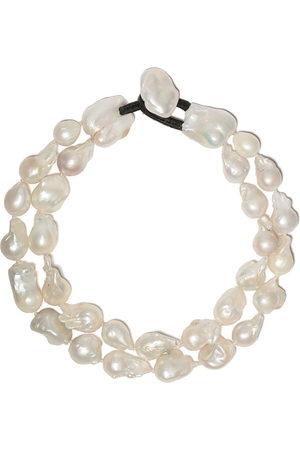 MONIES Collana di perle doppio filo - BAROQUE PEARLS
