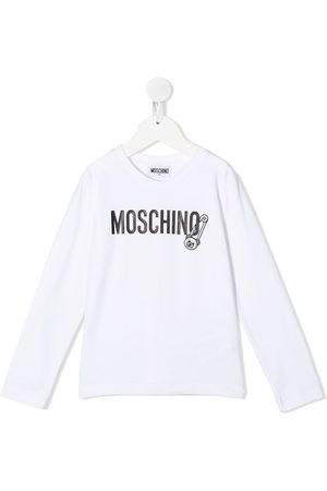 Moschino T-shirt a maniche lunghe - Di colore