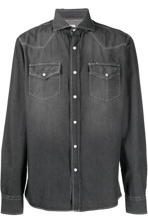 Brunello Cucinelli Camicia denim