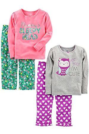 Simple Joys by Carter's Bambina Pigiami - Pajama-Sets, Owl/Floral, 3T