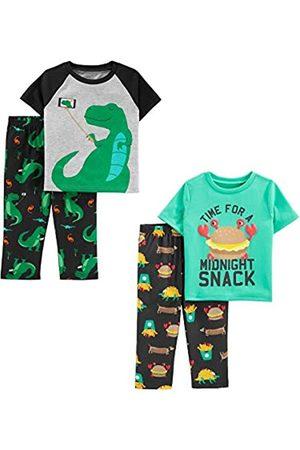 Simple Joys by Carter's Bambini Set - 4-Piece Pajama Set Sets, Dino/Midnight Snacker, 5T