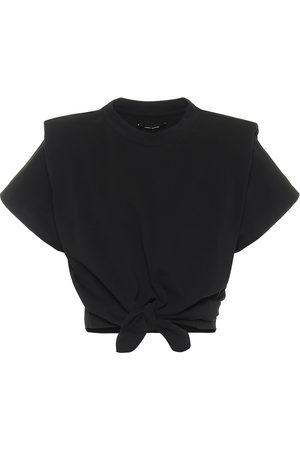 Isabel Marant T-shirt cropped Belita in cotone