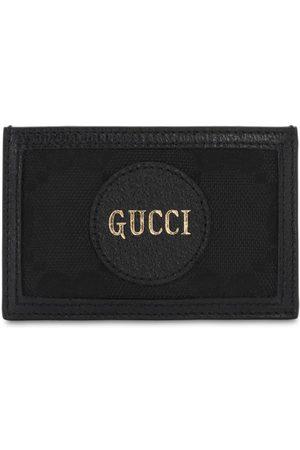 """Gucci Porta Carte Di Credito """"off The Grid Gg"""" In Econyl"""