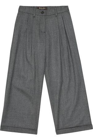 Loro Piana Pantaloni Annika in lana stretch
