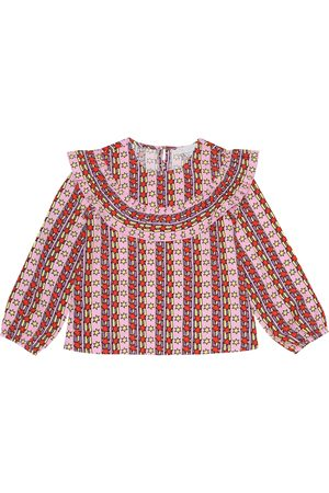 Stella McCartney Blusa a stampa in twill
