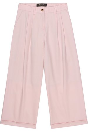 Loro Piana Pantaloni Annika in lana stretch
