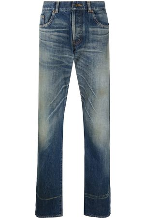 Saint Laurent Jeans taglio straight