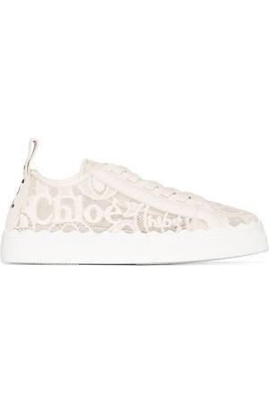 Chloé Donna Sneakers - Sneakers Lauren - Toni neutri