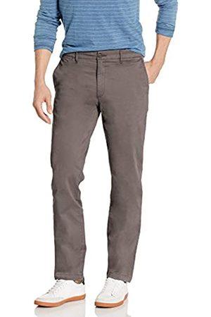 Goodthreads Marchio Amazon - , The Perfect Chino Pant, pantaloni chino elasticizzati, da uomo, aderenti, effetto lavato, comodi, Grey, 29W / 28L