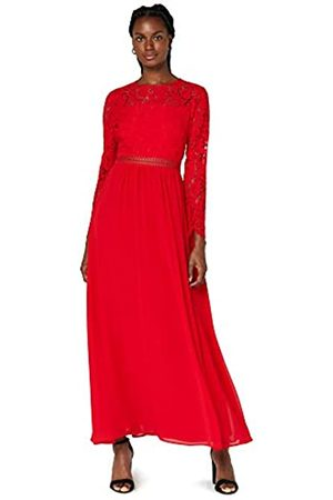 TRUTH & FABLE Marchio Amazon - Maxi Dress A-Line in Pizzo Donna, ., 52, Label: 3XL