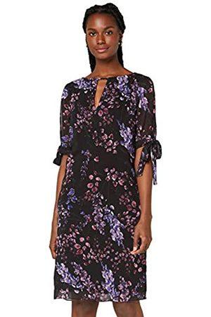 TRUTH & FABLE Marchio Amazon - Vestito A-Line in Chiffon Donna, , 38, Label: XXS
