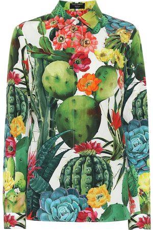 Dolce & Gabbana Esclusiva Mytheresa - Camicia a stampa in cotone