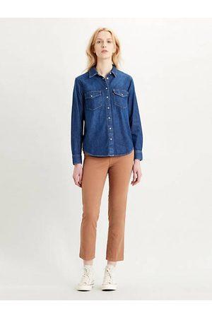 Levi's Donna Camicie - Essential Western Shirt Dark Indigo / Air Space