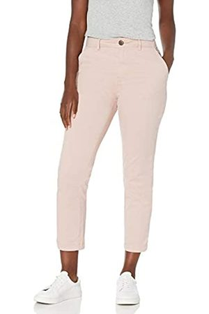 Goodthreads Stretch Chino Straight Crop Pant Pants, Sepia Rose, US 2