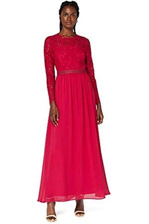 TRUTH & FABLE Marchio Amazon - Maxi Dress A-Line in Pizzo Donna, ., 50, Label: XXL