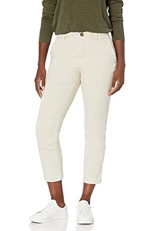 Goodthreads Stretch Chino Straight Crop Pant Pants, Whitecap Grey, US 12