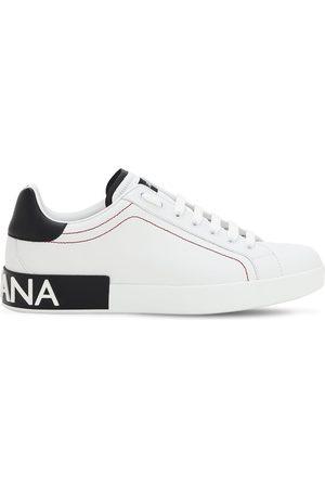 "Dolce & Gabbana Sneakers ""portofino"" In Pelle"