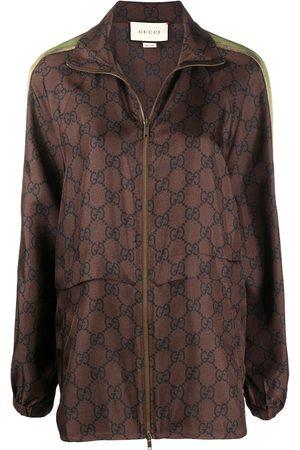 Gucci Giacca in GG Supreme con zip