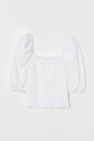 H&M Donna Top - Top con smock