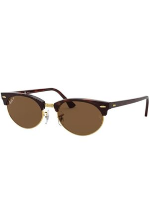Ray-Ban Occhiali da Sole RB3946 Clubmaster Oval Polarized 130457
