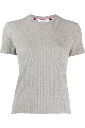 Thom Browne T-shirt con righe - Di colore