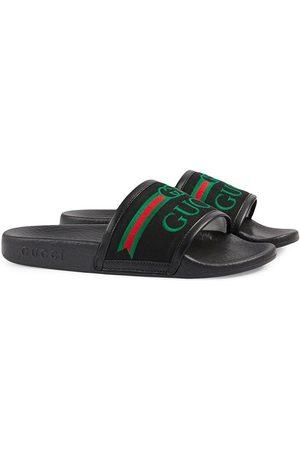 Gucci Slides con ricamo - Di colore