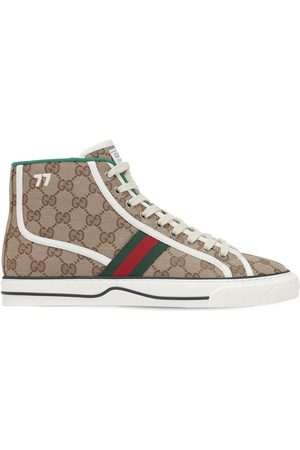 "Gucci Sneakers ""gg Mignon Tennis 1977"" In Tela"