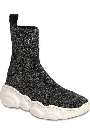 Moschino Bambina Sneakers - Sneakers In Maglia Glitter