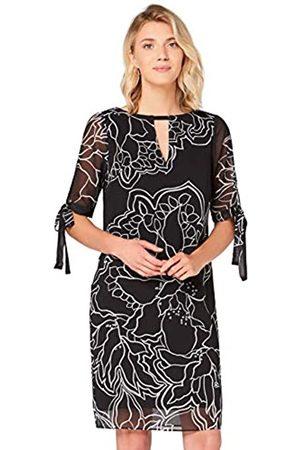 TRUTH & FABLE Marchio Amazon - Vestito A-Line in Chiffon Donna, ., 44, Label: M