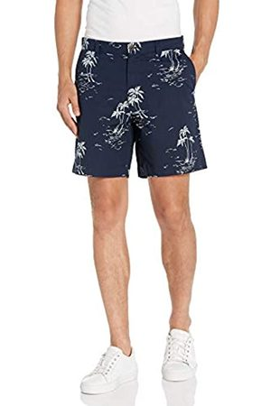 "Amazon Uomo Pantaloncini - Regular-Fit Lightweight Stretch 7"" Short Athletic-Shorts, Vintage Palm, 38"
