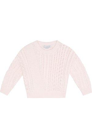 Stella McCartney Pullover in cotone e lana