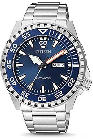 Citizen Orologio Analogico Automatico Uomo con Cinturino in Acciaio Inox NH8389-88LE