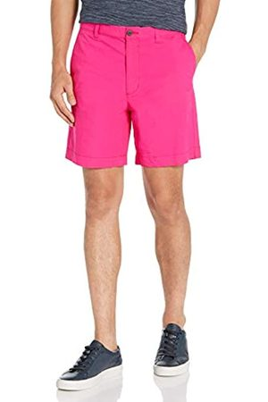 "Amazon Uomo Pantaloncini - Regular-Fit Lightweight Stretch 7"" Short Shorts, Bright Pink, 40"
