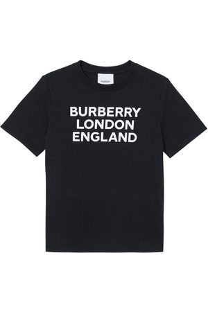Burberry T-shirt In Jersey Di Cotone