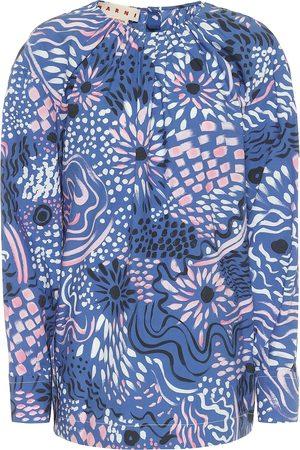 Marni Blusa a stampa in cotone