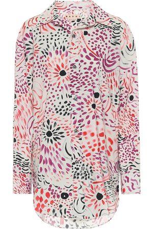 Marni Camicia a stampa in cotone