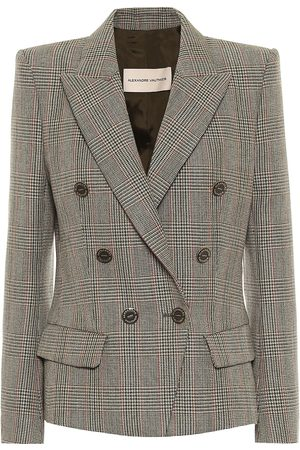 ALEXANDRE VAUTHIER Blazer in lana principe di Galles