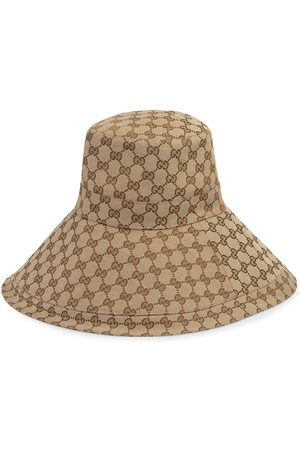 Gucci Uomo Cappelli - Cappello a tesa larga GG - Color carne