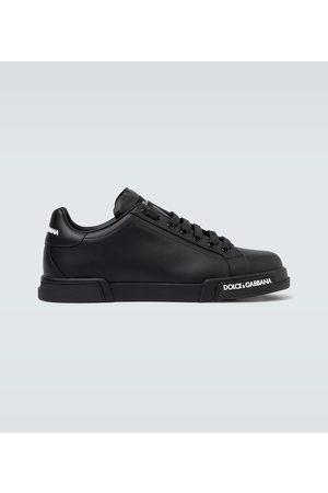Dolce & Gabbana Sneakers Port Light in pelle