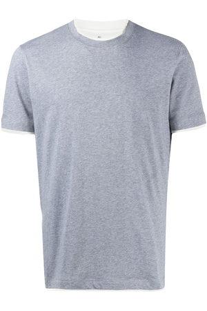 Brunello Cucinelli T-shirt con dettaglio a contrasto - Di colore
