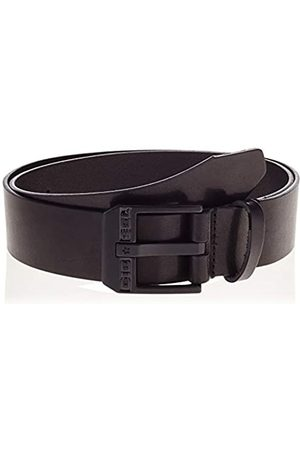 Diesel Men's BLUESTAR Belt, Black/Zama Nera Lucida, 95