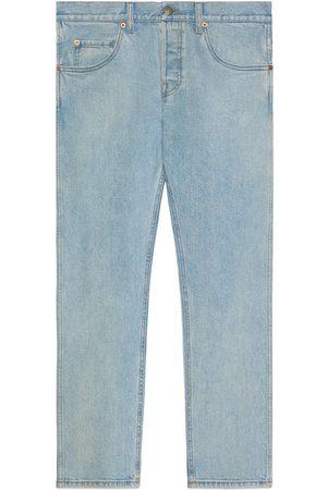 Gucci Jeans aderenti effetto délavé