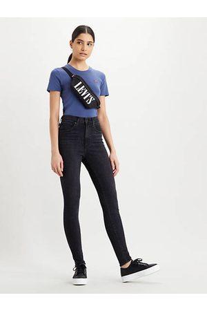 Levi's Mile High Super Skinny Jeans / Black Haze