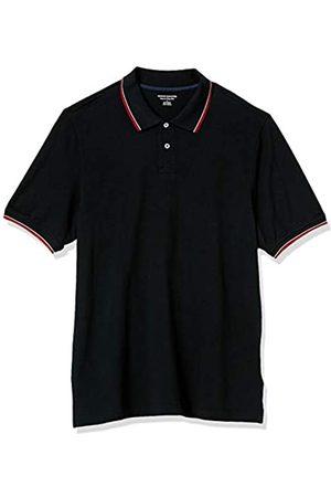 Amazon Polo in Cotone piqué con Punta Regolare Shirts, Colore: / e , US M